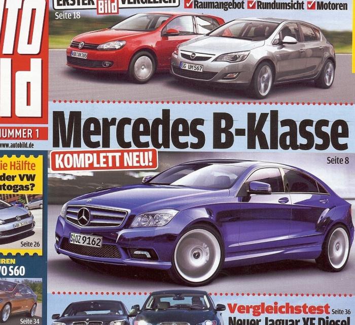 Neue Mercedes B Klasse Forum