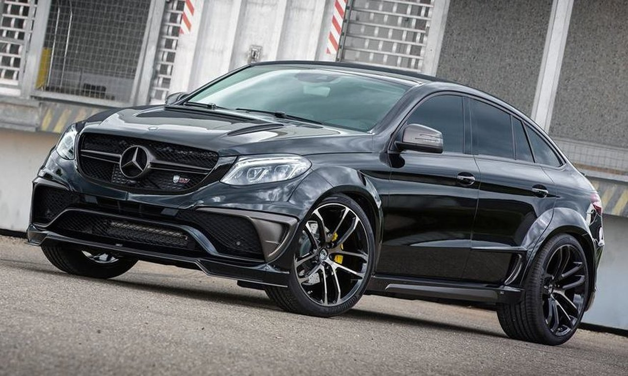 Fettes Tuning Mercedes Benz Gle Coup 233 The Real Thing