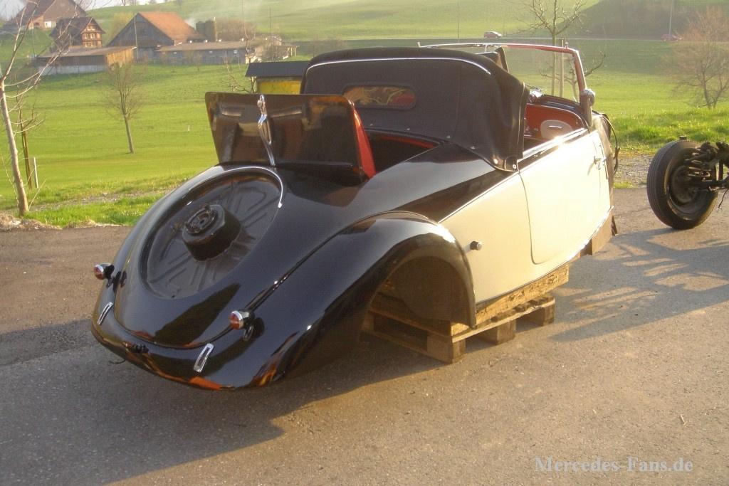 1936 mercedes benz 170v eine auto biographie teil 3 for Mercedes benz biography