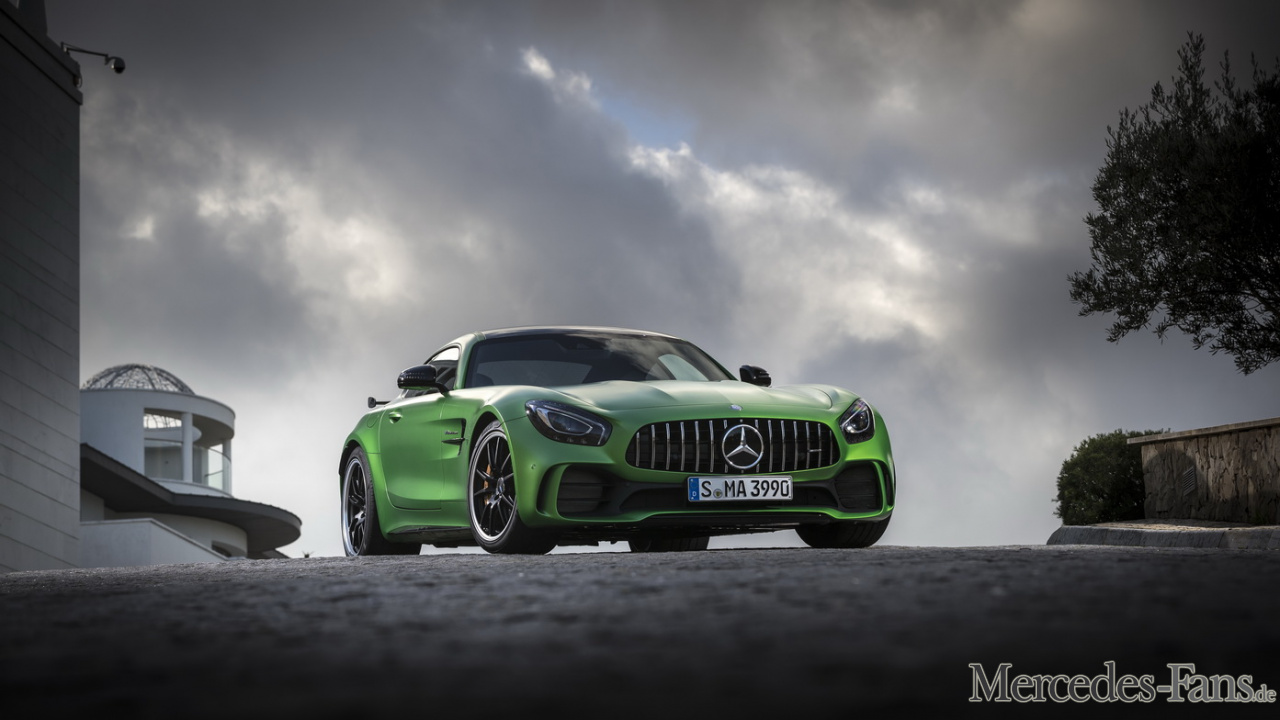 Der Neue Mercedes AMG GT R The Beast Of The Green Hell