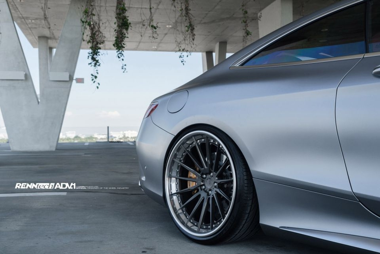 Mercedes-Tuning: Mercedes S63 AMG Coupé mit Tiefenwirkung ...