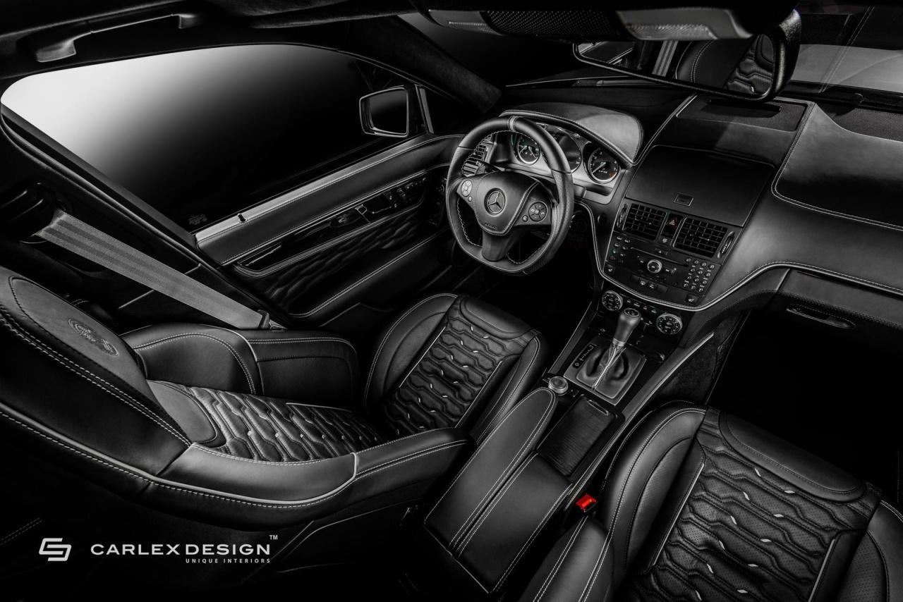 Mercedes-Benz C63 AMG: Innere Werte: Umfeldverbesserung: Carlex ...