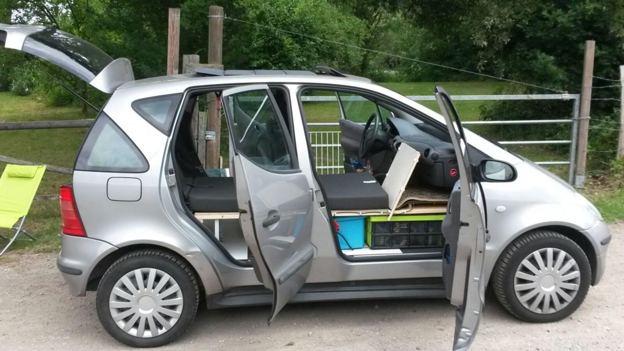 Mercedes Benz A Klasse Umbau Zum Camper Ungew 246 Hnliche