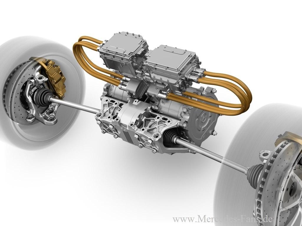Mercedes Benz Sls Amg E Cell Die Kraft Des Stroms