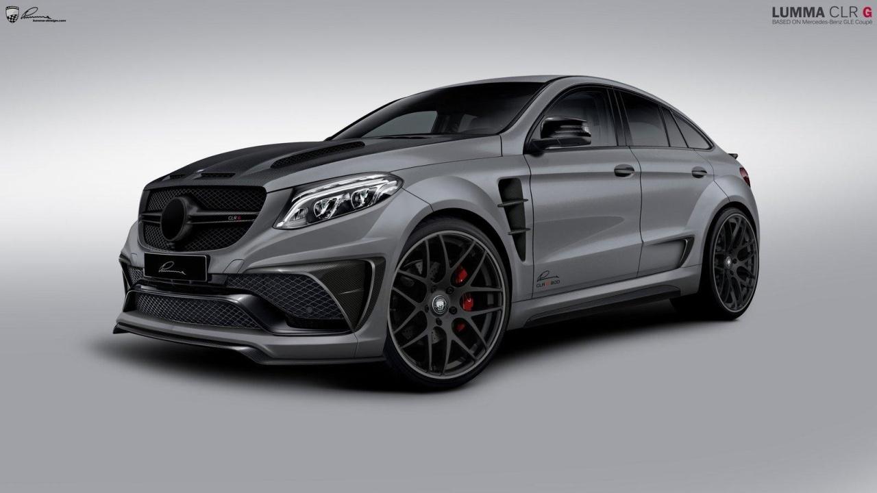 Fette iaa premiere lumma clr g 800 monster suv auf for Mercedes benz fans