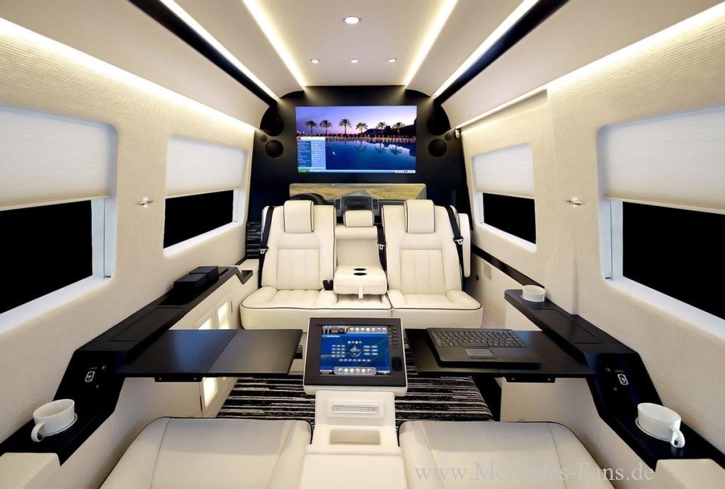 Mercedes Benz Oxnard >> Der Sprinter der Stars: Becker JetVan : XXL-Super-Luxus-Van auf Basis des Mercedes-Benz Sprinter ...