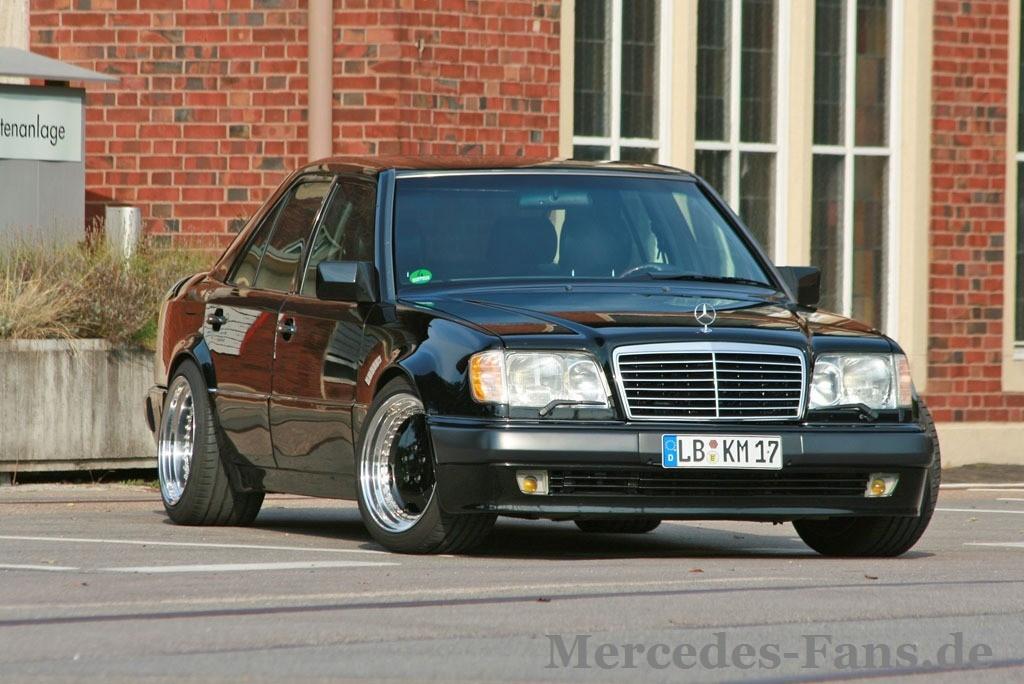 Einfach Knut – W124 500E in Top-Form und AMG-Look: Mercedes Tuning ...