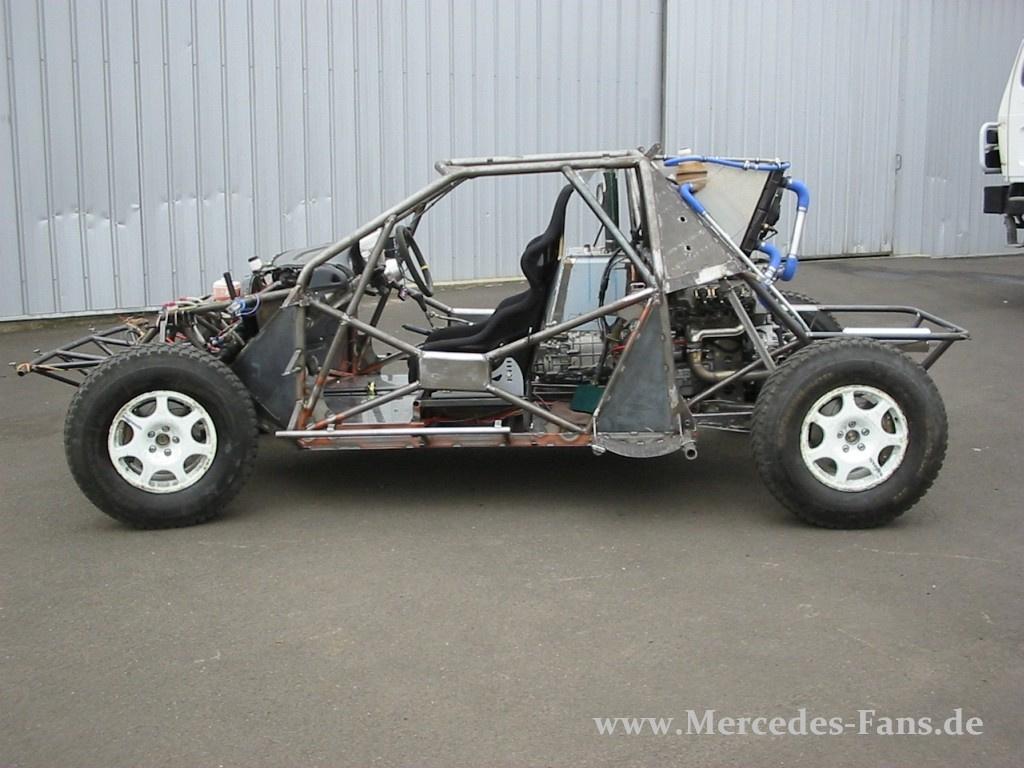 Mercedes g rallyefahrzeug