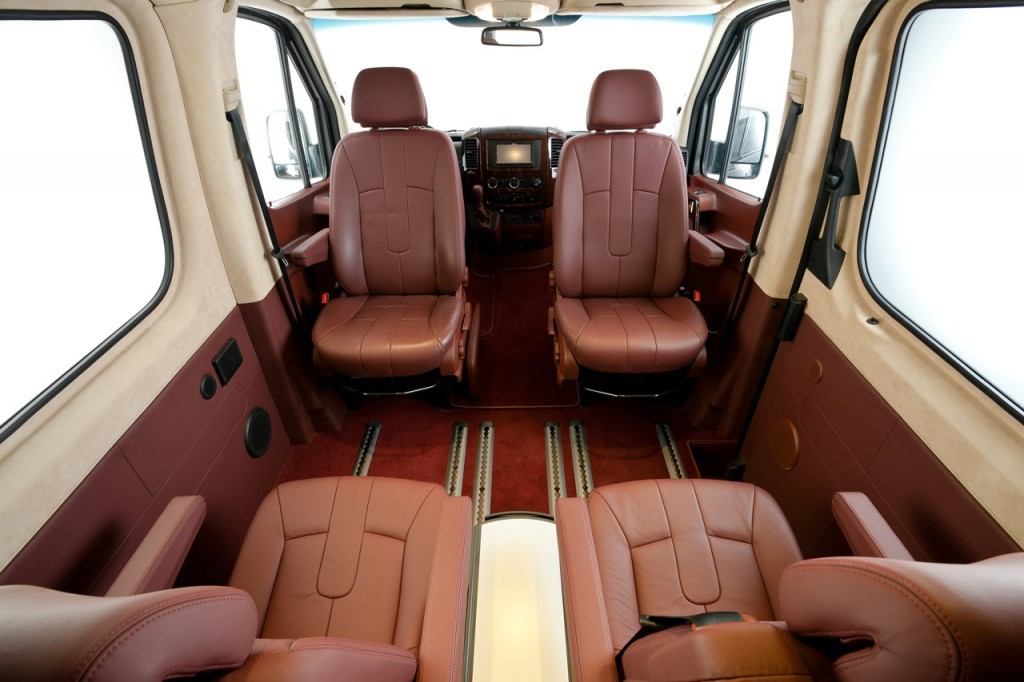 Hartmann SP5 Conference - Interieur : Mercedes-Benz Sprinter 319 CDI ...