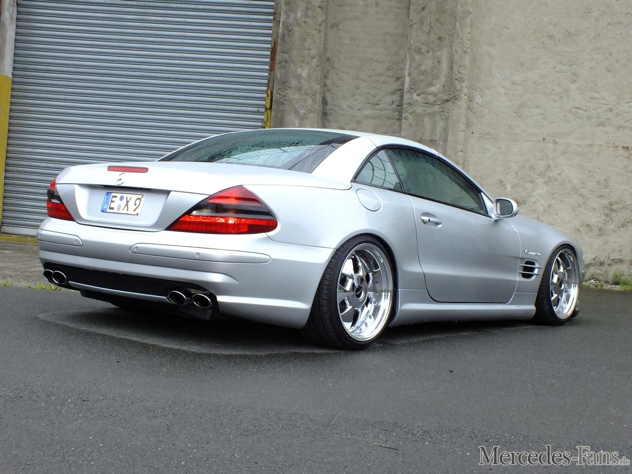 Powertyp 2002er Mercedes Sl55 Amg 500 Ps Starker R230