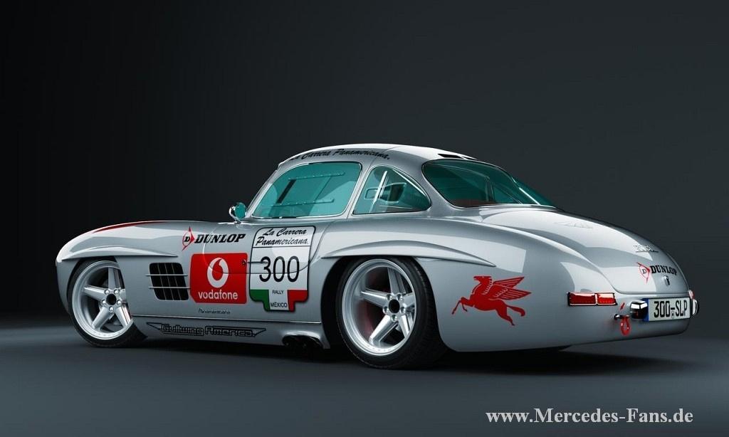 Mercedes Benz  Slr Race Car