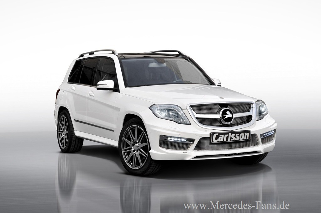 neues zubeh r von carlsson f r den mercedes benz glk der. Black Bedroom Furniture Sets. Home Design Ideas