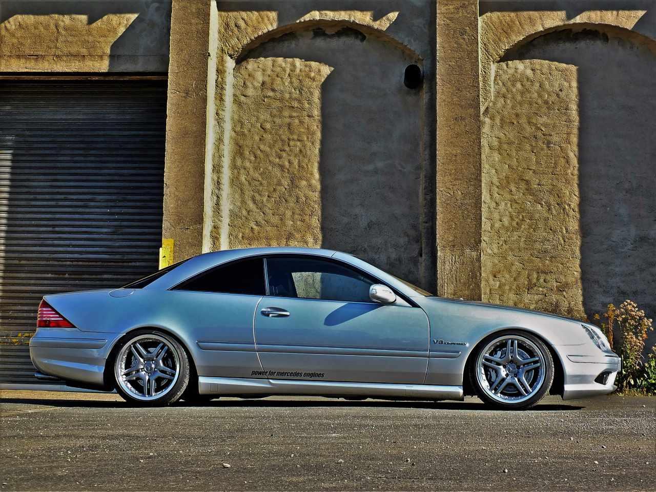 Gestrkter Stern Mercedes Benz CL55 AMG C215 Vier Augen