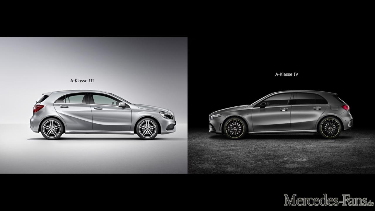 Mercedes benz a klasse w176 vs w177 fotostrecke for Mercedes benz fans