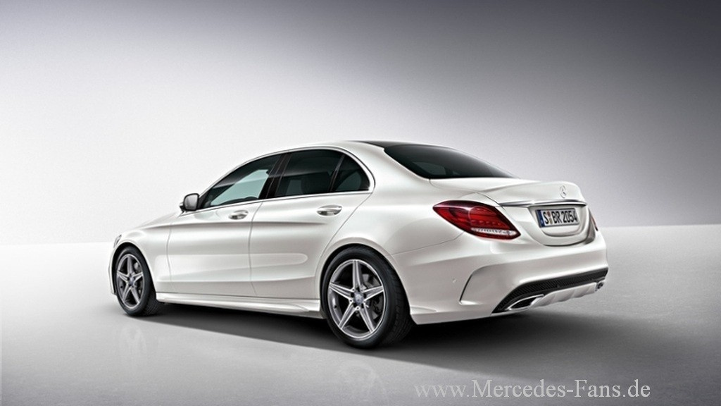 neue mercedes c klasse mehr sport mit amg line. Black Bedroom Furniture Sets. Home Design Ideas