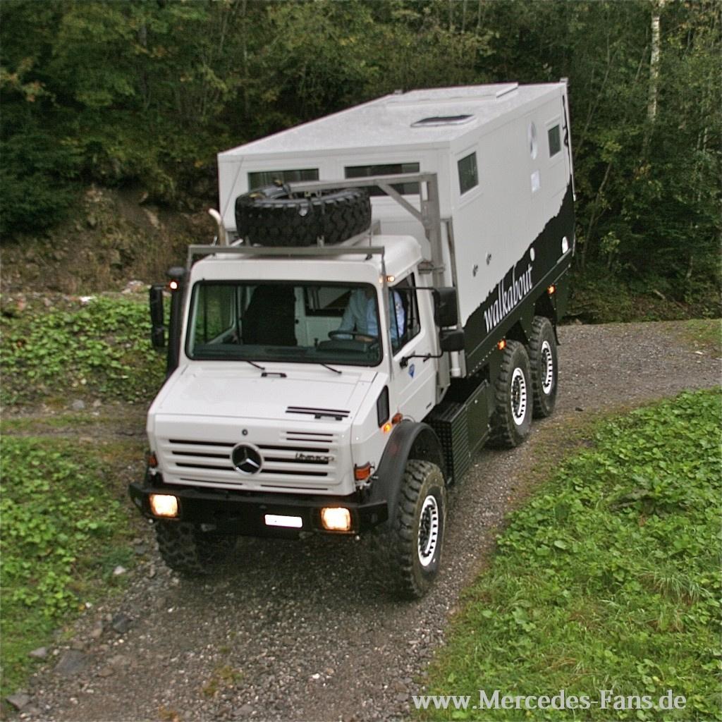 Expeditionsfahrzeug MD52h auf Basis Unimog U4000 6x6 ...