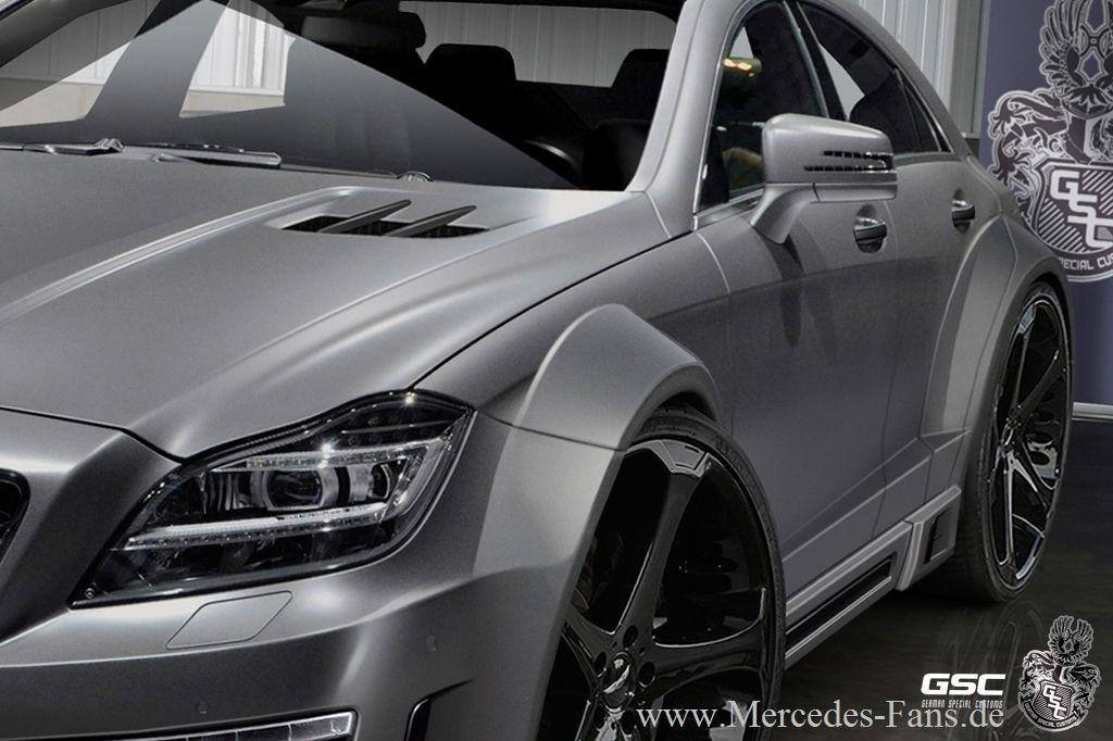 Breit Ist Allright  Mercedes Cls 63 Amg Mit 750 Ps Von Gsc  Gsc Pr U00e4sentiert Ein Starkes Tuning