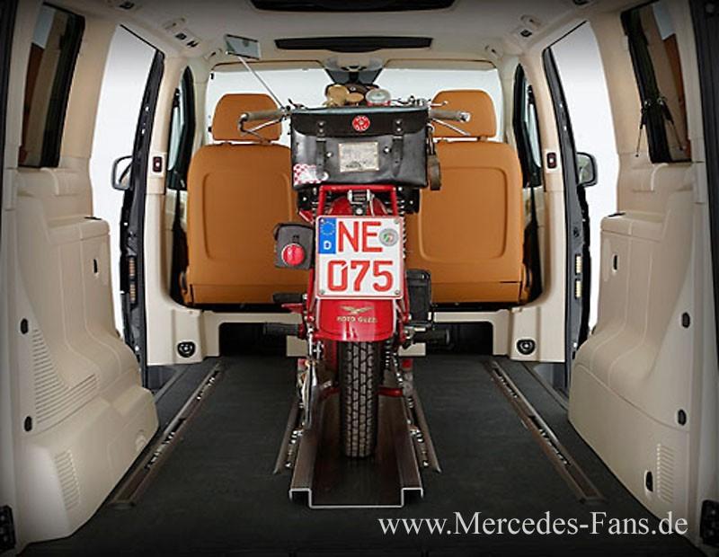 Mercedes Benz Van >> Für Biker: SECUFIX-Motorradhalterung von VanSports: Die ...