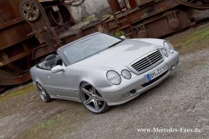 Fahrwerk Feder 2 hinten Mercedes CLK Cabrio ohne Vollausstattung 320 430 A208
