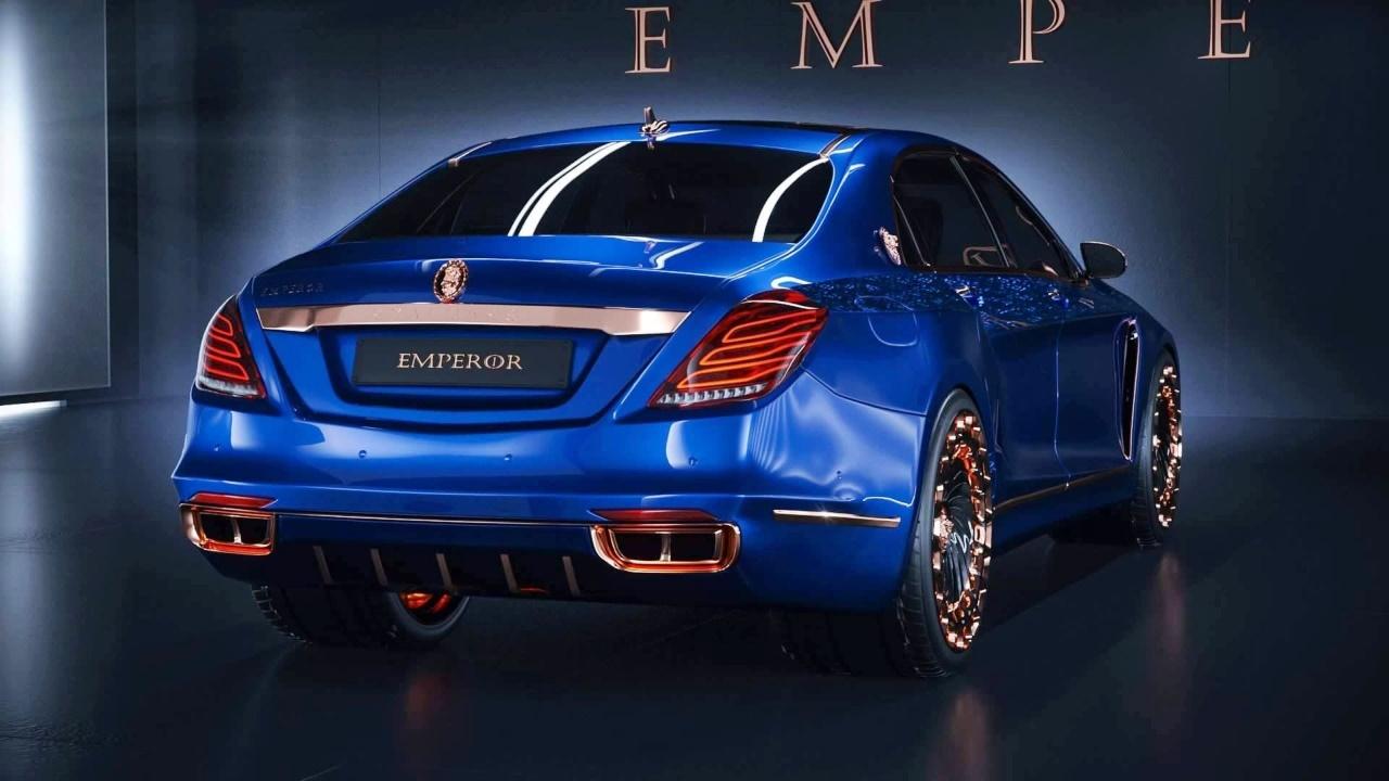 Mercedes-Maybach Tuning: Scaldarsi Emperor I: Auf die ...