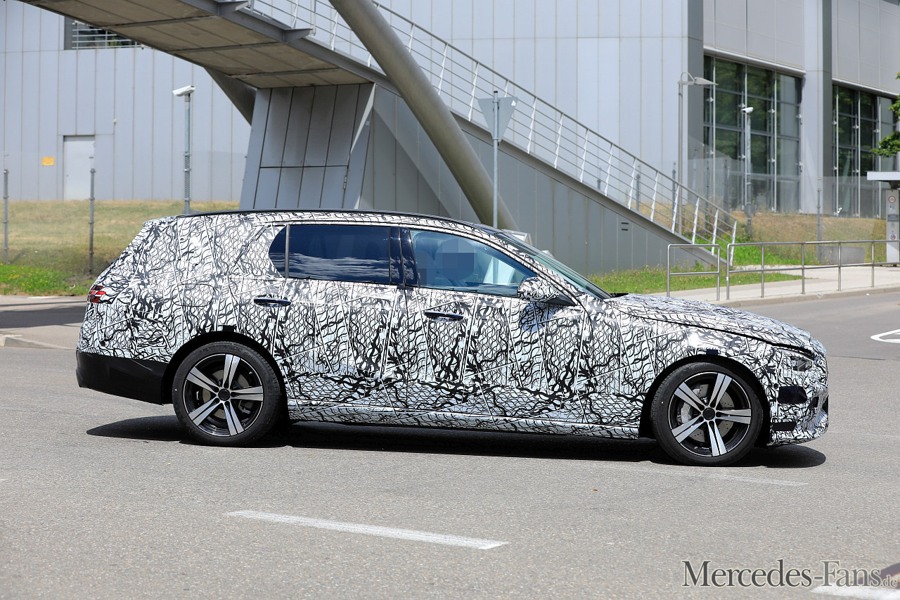 2021 Mercedes-Benz C-Klasse Kombi Prototyp: Erstmals ...