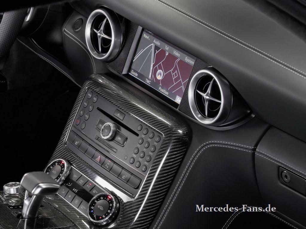 Neue Bilder: Interieur Mercedes SLS AMG-Flügeltürer: So schaut der ...