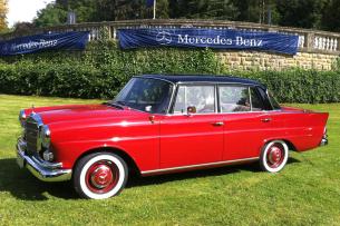 W110 Heckflosse Aus Dornroschen Erwacht 1964er Mercedes Benz 190 Dc