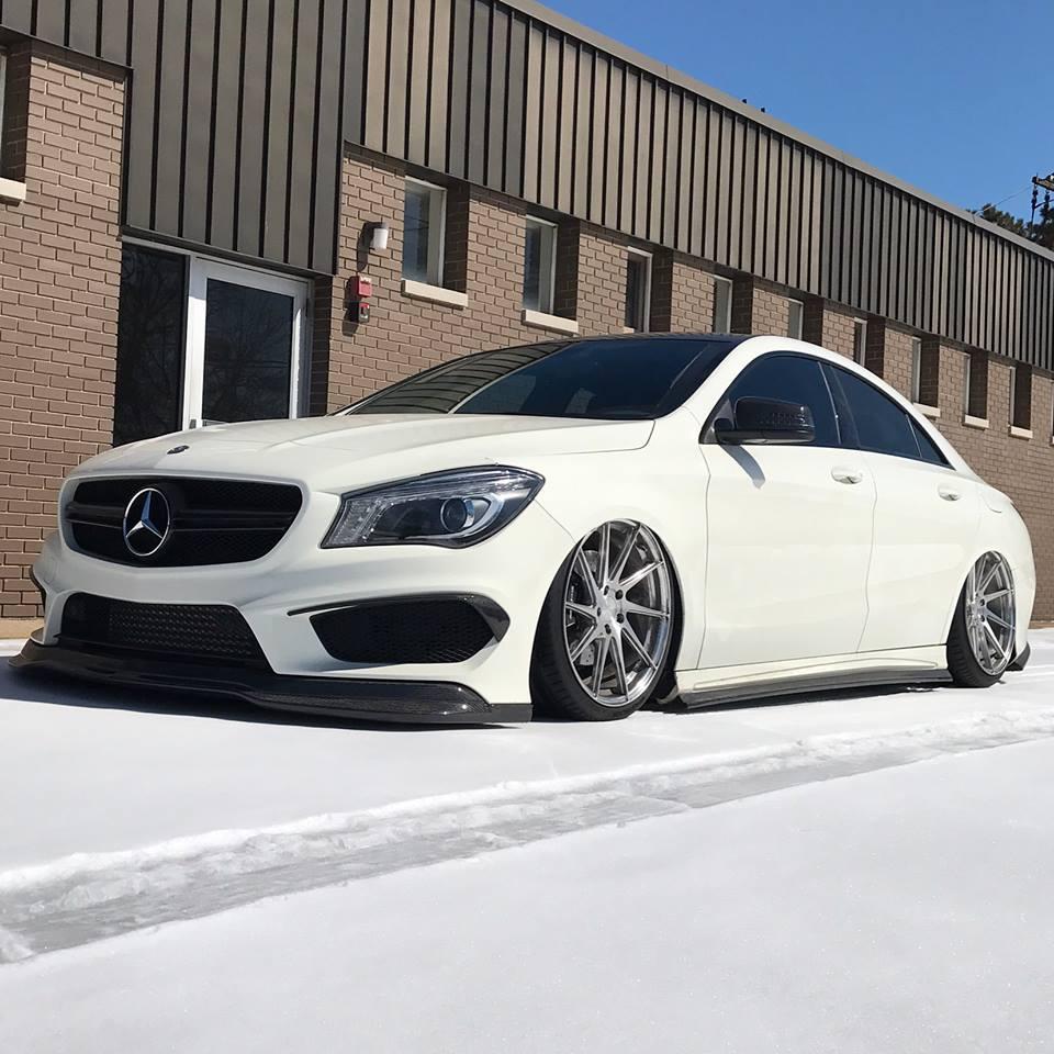 Mercedes-Benz CLA Tuning: Power & Performance-Plus Für Den