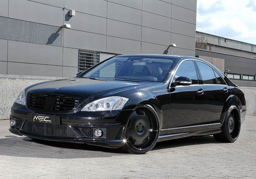 Black Amp Better Mercedes S Klasse Tuning Von Mec Design