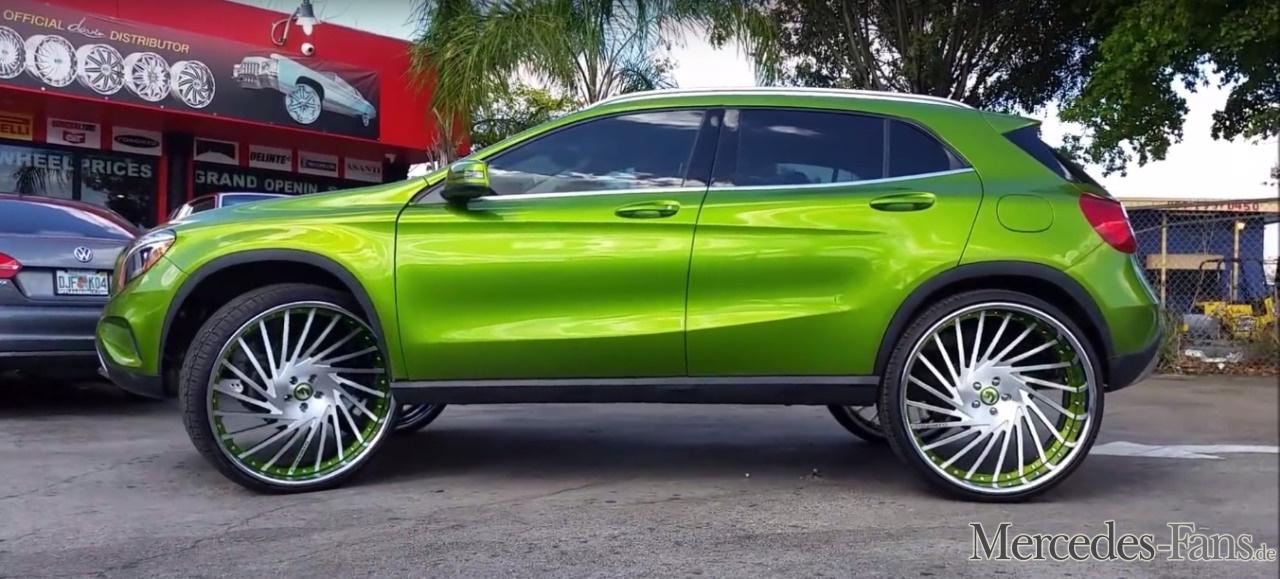 Mercedes-Benz GLA: 26-Zoll-Räder für das Kompakt-SUV: GLA ...