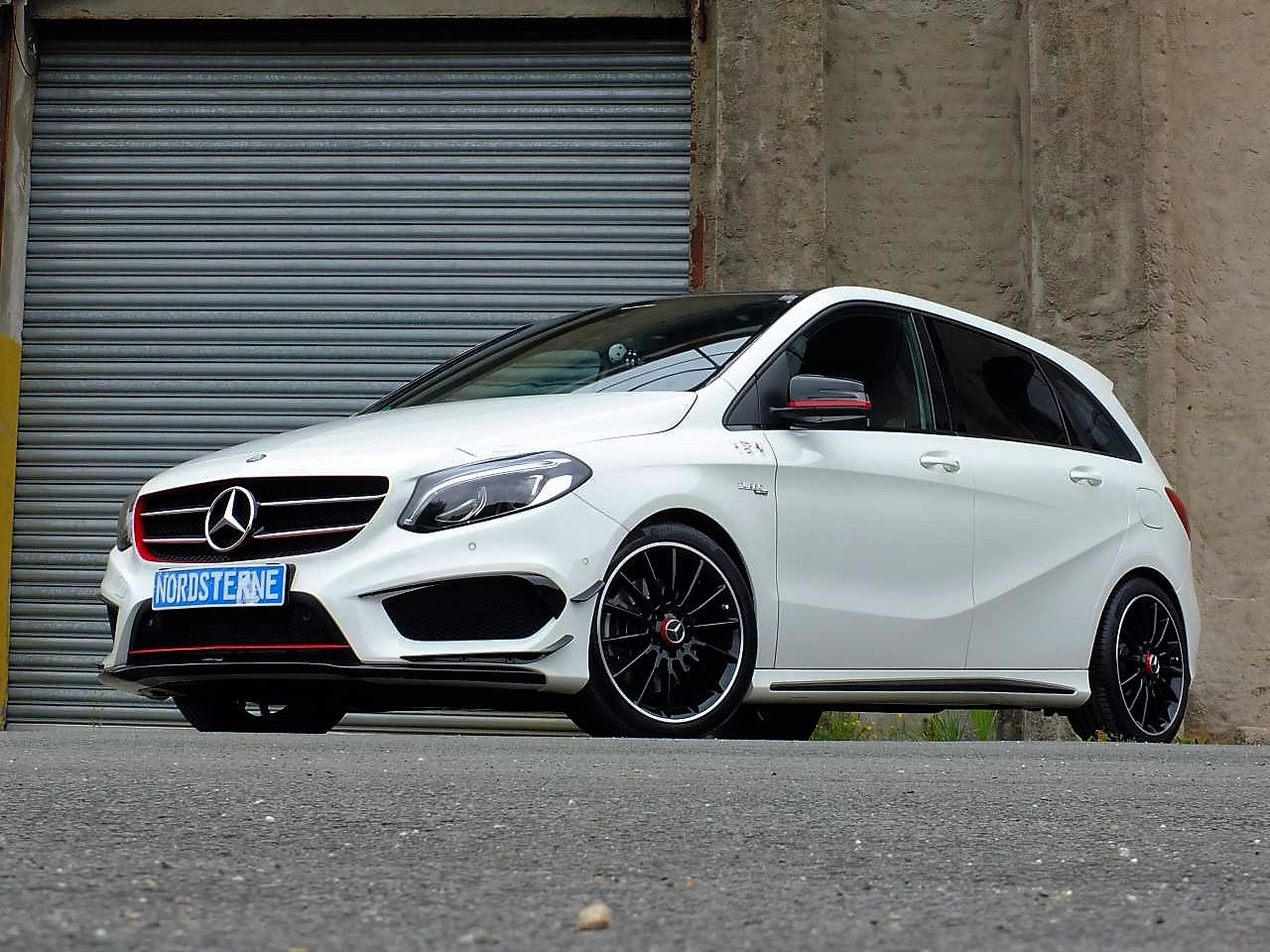 mercedes benz b klasse tuning b klasse goes high performance mercedes b 200 d als amg b45