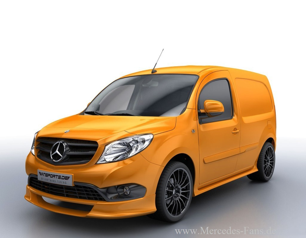 sch ner stadtheld mercedes citan performance kit von hartmann tuning kurz vor markteinf hrung. Black Bedroom Furniture Sets. Home Design Ideas