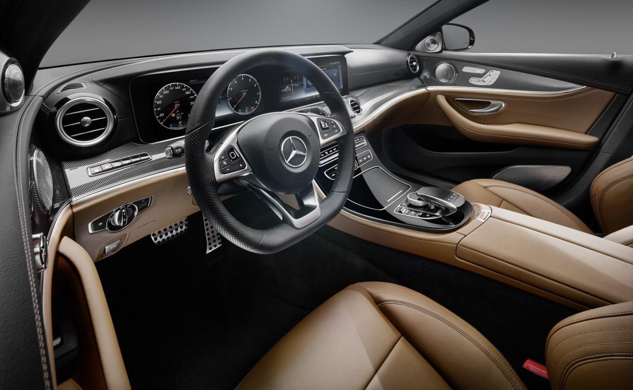Interieur mercedes  Vorschau: So schick wird die neue Mercedes-Benz E-Klasse 2016 ...