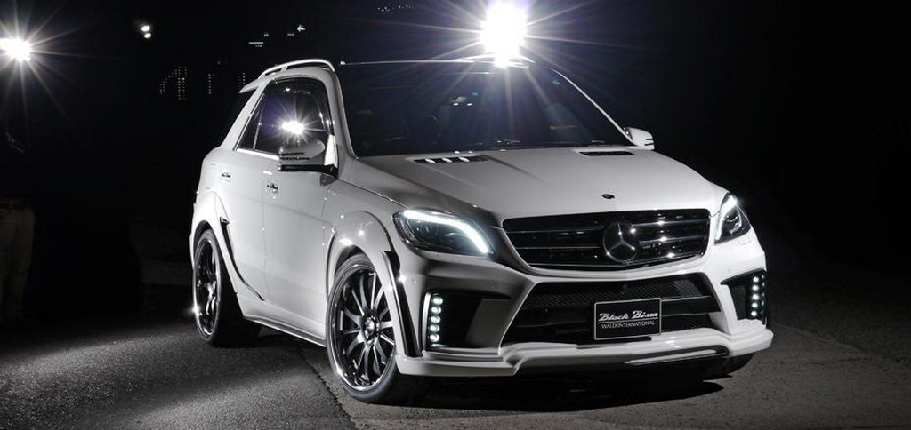 A touch to much mercedes m klasse tuning von wald for How much is a mercedes benz suv