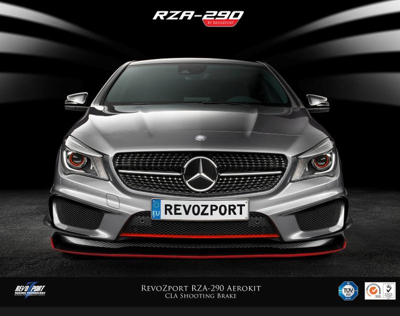 mercedes tuning zubeh r f r cla shooting brake revozport. Black Bedroom Furniture Sets. Home Design Ideas