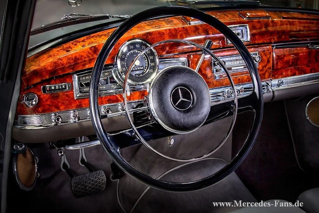 California car 1960 mercedes benz 300d cabriolet c for Mercedes benz classic center california
