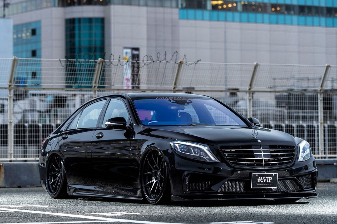 mercedes benz s klasse tuning big bad brutal. Black Bedroom Furniture Sets. Home Design Ideas