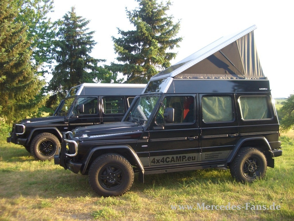 mercedes g reisemobil von 4x4 camp cleverer g umbau vom. Black Bedroom Furniture Sets. Home Design Ideas