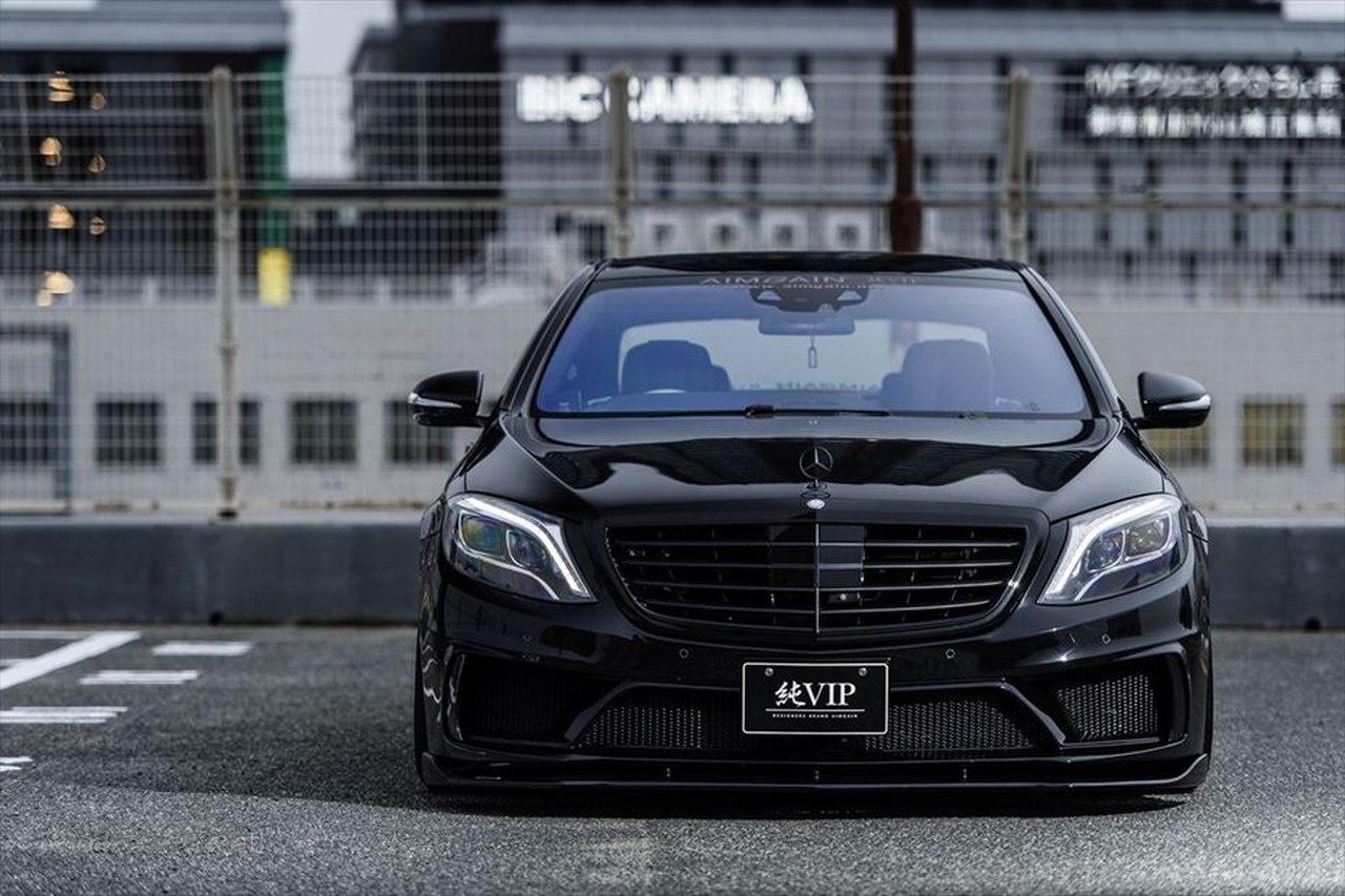 Mercedes Benz S Klasse Tuning Big  bad  brutal