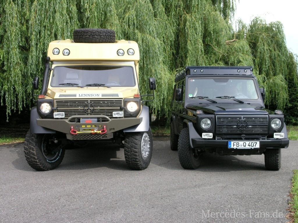 Lennson 3c Der Offroad Camper: Fernreisemobil auf Mercedes ...
