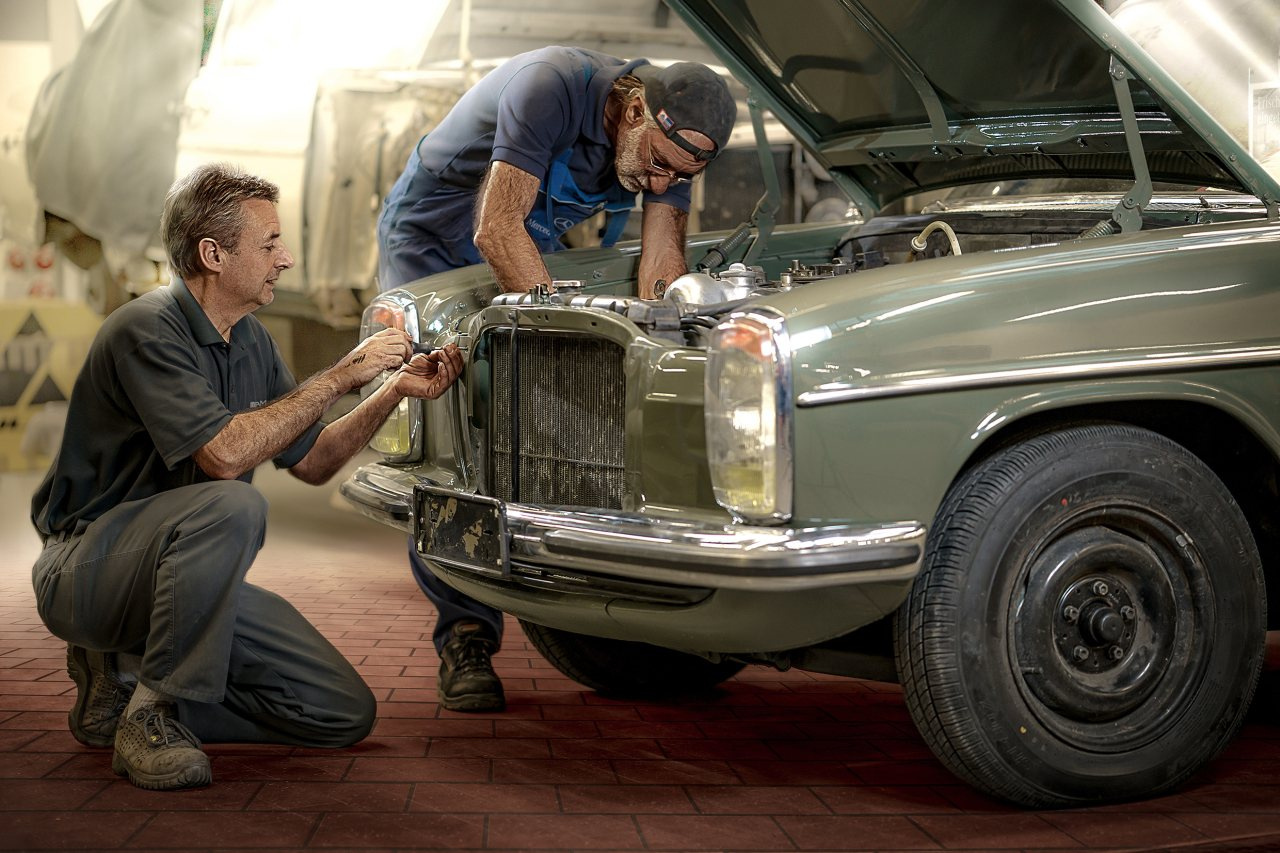 Mercedes benz classic kompetenz f r klassiker mercedes for Mercedes benz fans