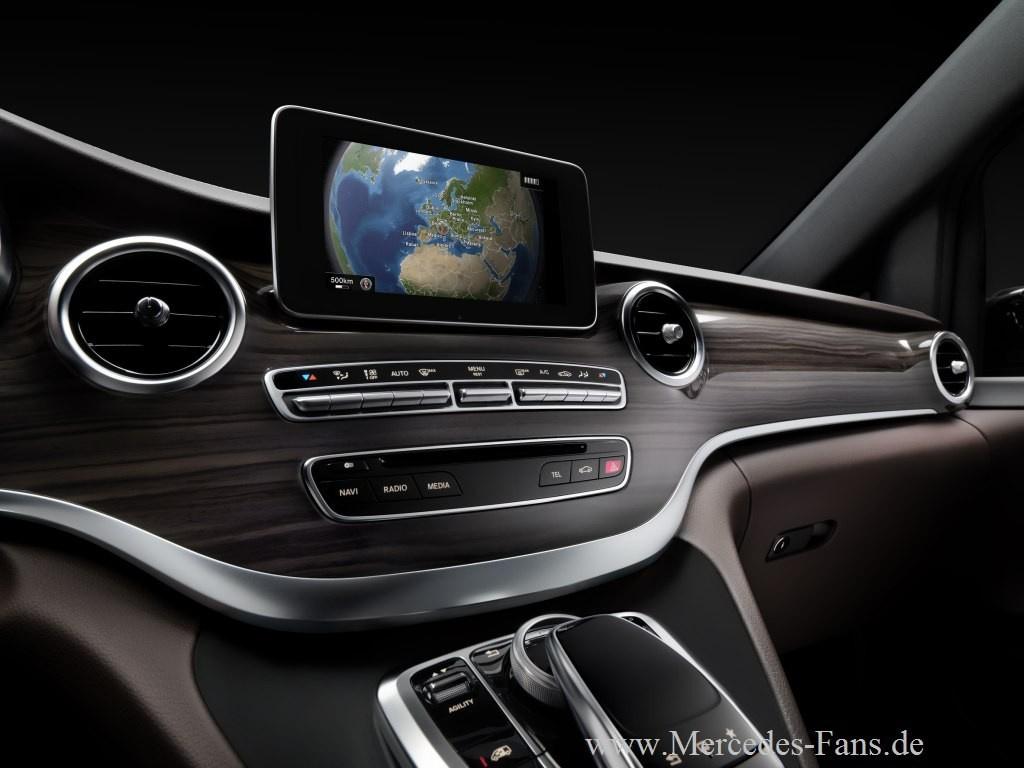 Innere Werte Erste Interieur Fotos Von Der Neuen Mercedes