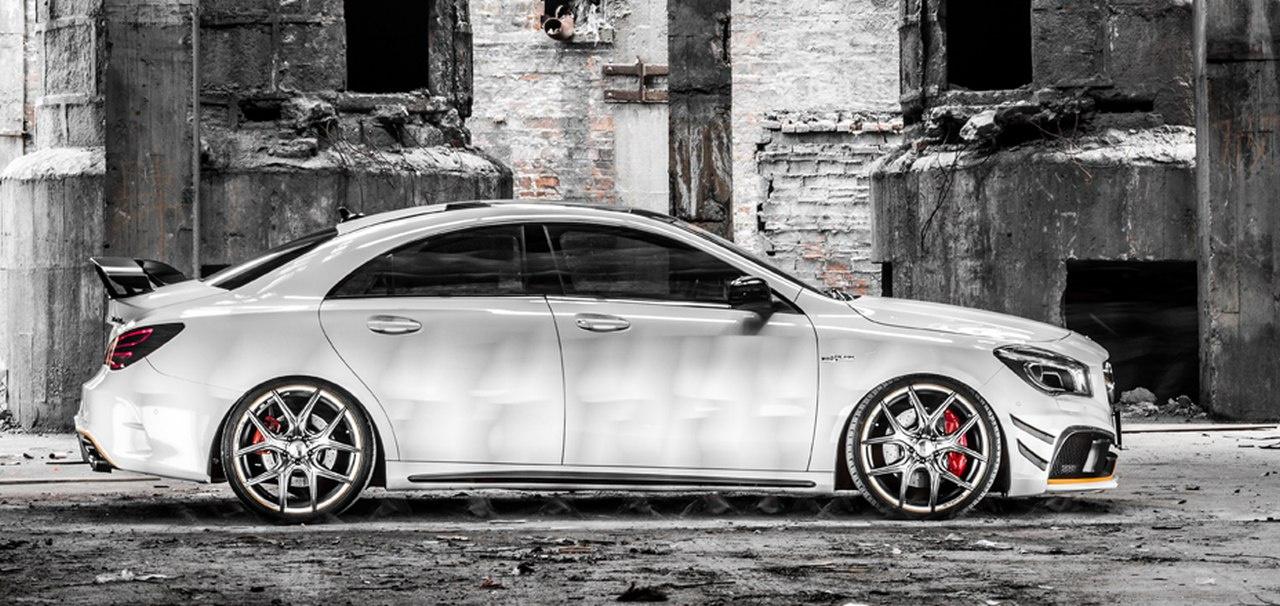 Mercedes-Benz CLA Tuning: Stierischer Look: Black-Bison