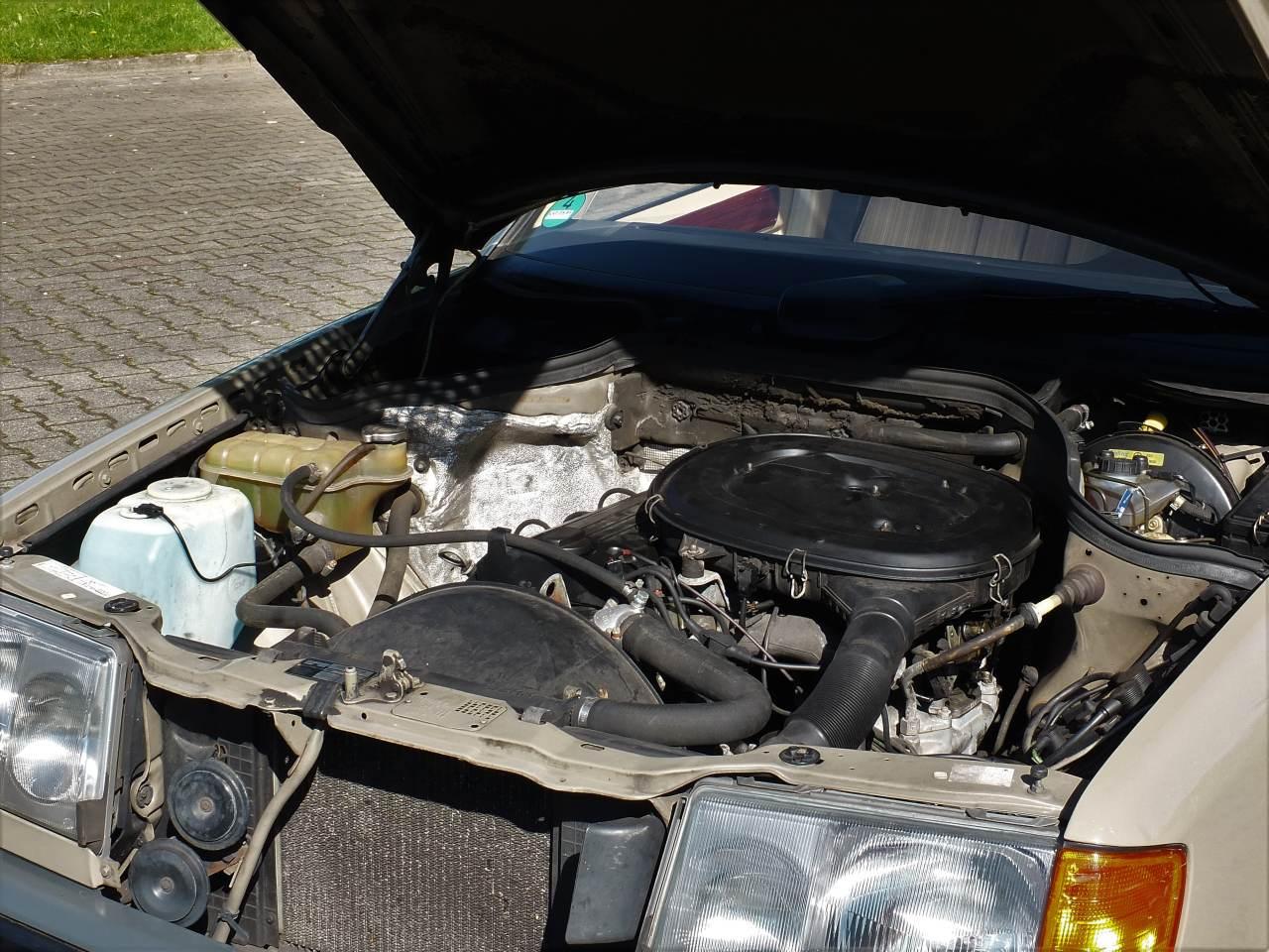 Mercedes-Benz 230 E: Bestandspflege: Waschen. Schweißen