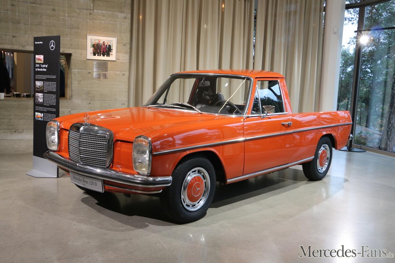 La Pickup: 1972 Mercedes-Benz 220d Strich Acht Pick Up Aus