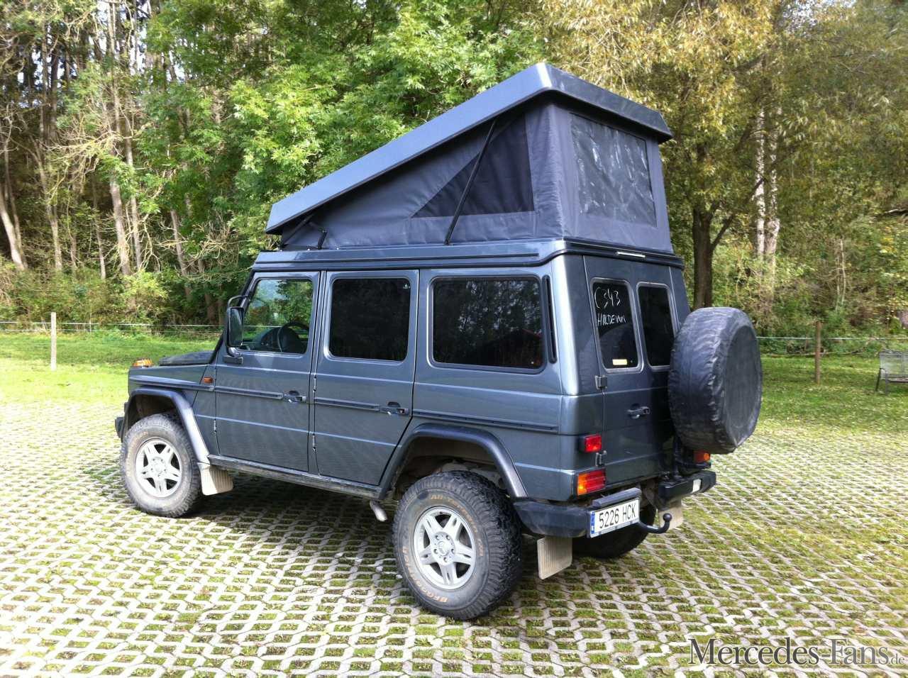 mercedes g reisemobile g klasse gut bedacht mit. Black Bedroom Furniture Sets. Home Design Ideas