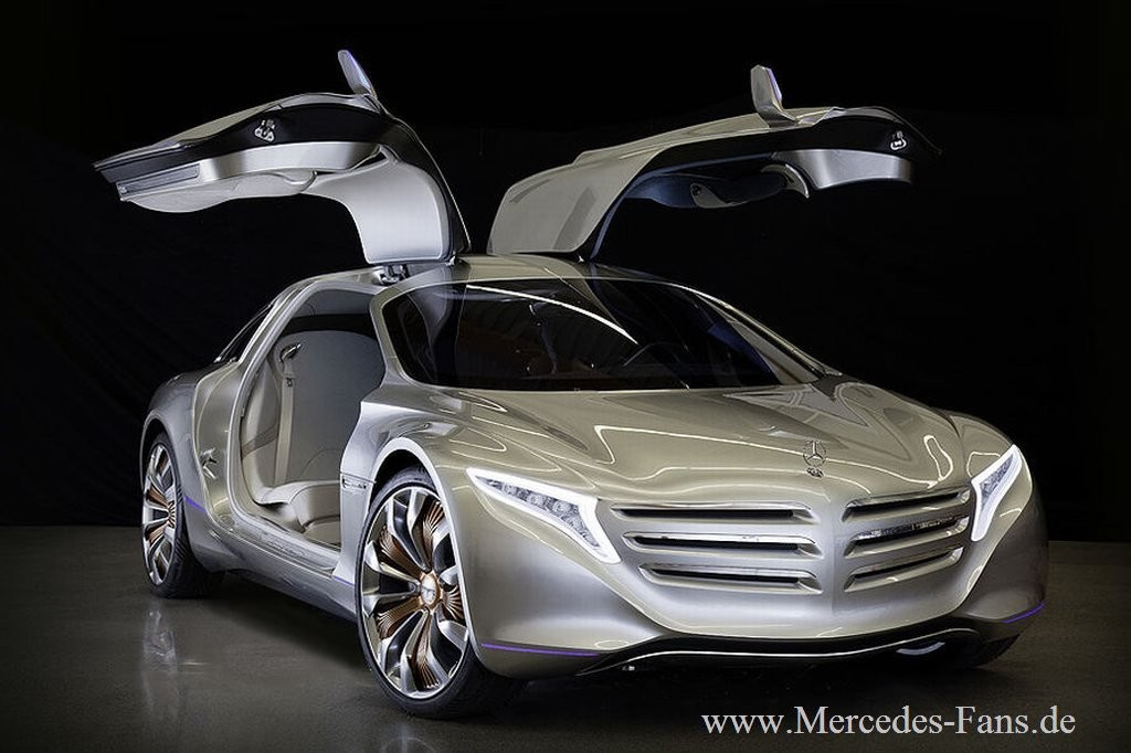bilder iaa premiere mercedes f125 mit dem neuen. Black Bedroom Furniture Sets. Home Design Ideas