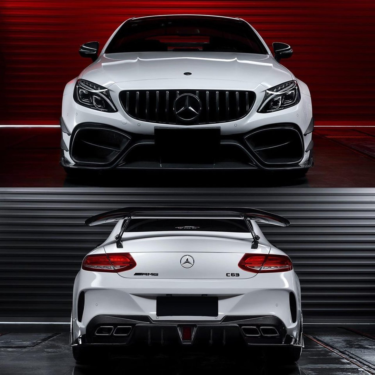 Mercedes-AMG Coupé (C205) Tuning: Darwin Pro Macht Das C43