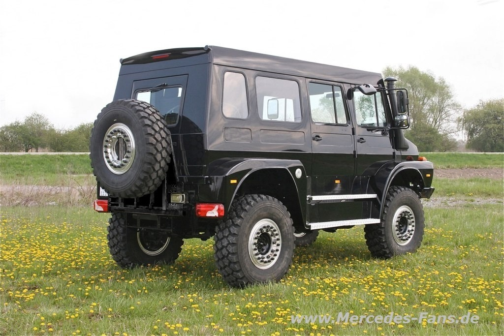 Unimog For Sale >> Unimog Prototyp von Unicat: der Über-Mog!: Das ist (besser als ein) Hammer: Unimog-SUV Concept ...