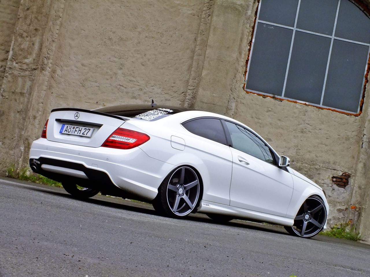 Mercedes Benz C Amg Coupe Black